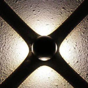 چراغ های دکوراتیو نما و نورپردازی