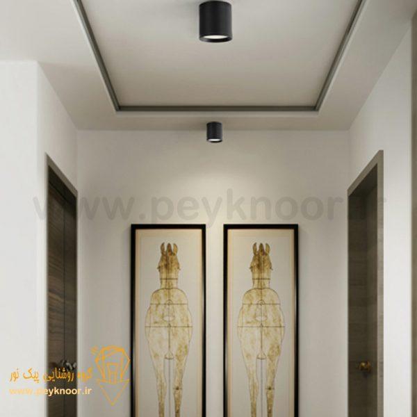 فروش چراغ استوانه 9 وات روکار SMD
