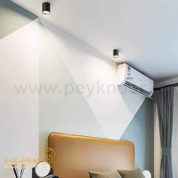 مشخصات چراغ استوانه 9 وات روکار SMD